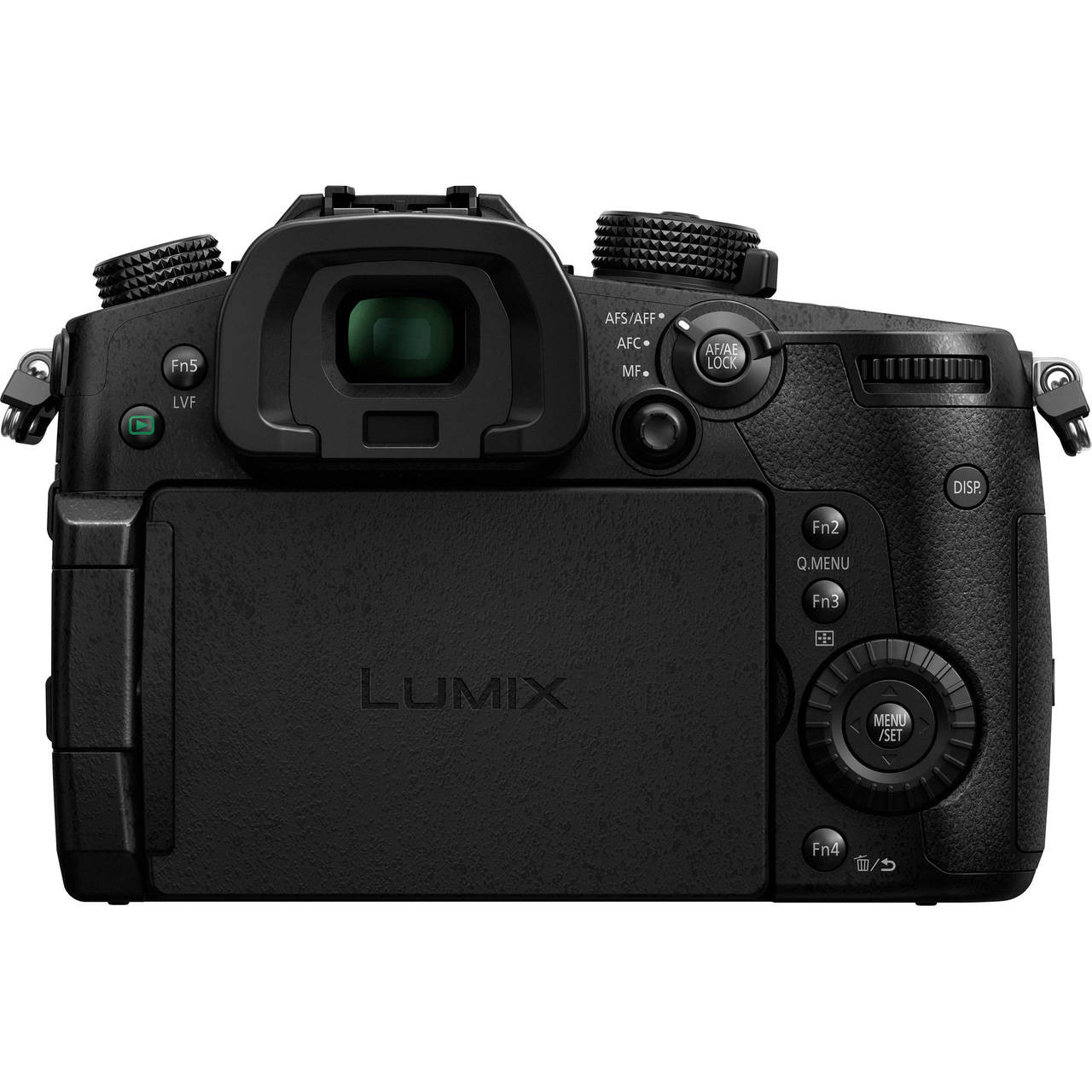 Lumix DMC-GH5 Body - Back (Screen Closed)