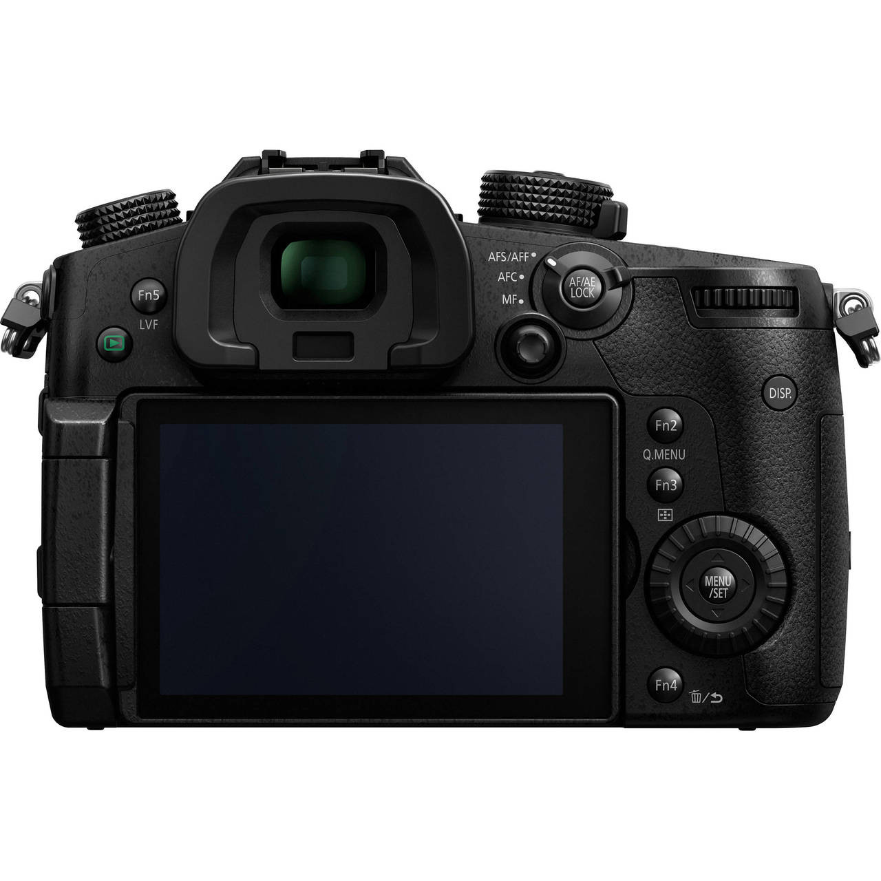 Lumix DC-GH5 Body - Back (Screen Open)