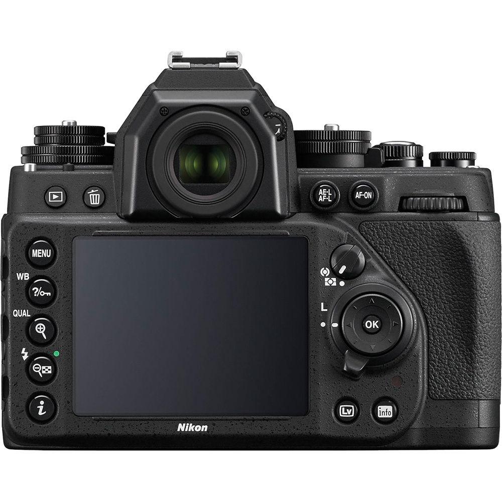Nikon DF Rear