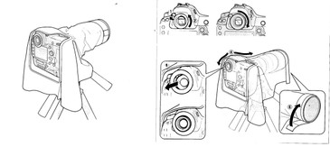 NRC-01L Lens Rain Cover (Large) for Lenses AF-S 400mm f/2.8 VR, AF-S 500mm f/4 VR, AF-S 600mm f/4G VR, AF-S 800MM F/5.6E VR