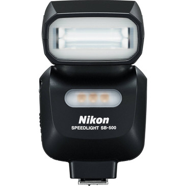 Nikon SB-500 Flash Front View