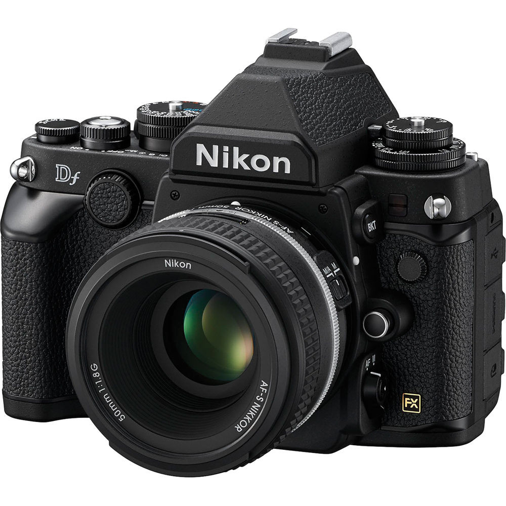Camera Pre Owned Dslr Camera pre owned nikon df dslr camera with 50mm f1 8 lens black ace black