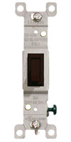 Single Pole Toggle Switch 15A Brown
