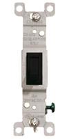 Single Pole Toggle Switch 15A Black