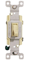 Three Way Toggle Switch 15A Ivory