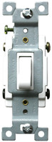 Four Way Toggle Switch 15A White