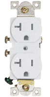 Commercial Duplex Receptacle 20Amp White