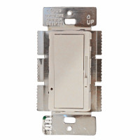 Sliding Dimmer 3-Way 1000W White
