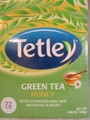 Tetley Green Tea Bags with Honey Flavor