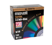 Maxell 622010 230mb Rewritable MO Disk