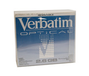 Verbatim 91204 2.6gb Rewritable MO Disk