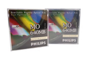 Philips 640mb MO Disks