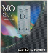 Philips 1.3gb 5.25 WORM MO Disk