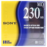 Sony EDM230C 230mb Rewritable MO Disk