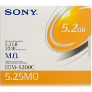 Sony EDM 5200C 5.2gb Rewritable MO Disk