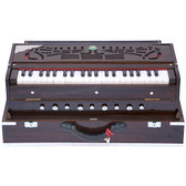 Manoj Sardar Teak Wood Folding Harmonium