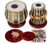 Ganesha Kalash Tabla Set 3.5kg Brass Bayan