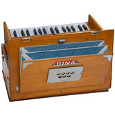 BINA No. 23B Deluxe Harmonium, 2.5 Octaves, Folding, Small - 411