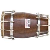 VHATKAR Sheesham wood Natural Dholak/dholki, Bolt Tuned
