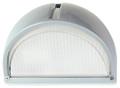 Oriel Small Cheval Bunker Light Plain Ip54 Sil OL7960SIL