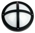 Oriel Solo Black Outdoor Wall Light IP65 E27 Premium Powdercoated SG70550BK