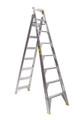 Bailey Dual Purpose Ladder Aluminium 150kg 2.4-4.4m Professional DP8 FS13397
