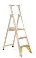 Bailey Platform Ladder Aluminium 150kg Platform Height 0.9m Heavy Duty Welded FS10714