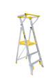 Bailey Platform Ladder Aluminium 170kg Platform Height 0.9m Professional With Gate FS13451