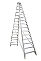 Bailey Step Ladder Double Sided Aluminium 150kg 4.8m Professional FS13392