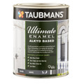 Taubmans Ultimate Enamel 1L White Gloss Alkyd Based Enamel