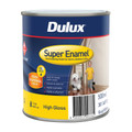 Dulux Super Enamel 500ml High Gloss Vivid White Enamel Paint