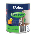 Dulux Super Enamel 500ml Semi Gloss vivid White Enamel Paint