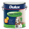 Dulux Super Enamel 4L Semi Gloss Vivid White Enamel Paint
