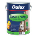 Dulux Super Enamel 10L Semi Gloss Vivid White Enamel Paint