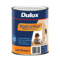 Dulux Wash & Wear 101 1L Low Sheen Ultra Deep Base Interior Paint