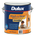 Dulux Wash & Wear 101 4L Low Sheen Orange Base Interior Paint