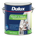 Dulux Wash & Wear 101 4L Semi Gloss Ultra Deep Base Interior Paint