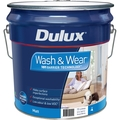 Dulux Wash & Wear 101 15L Matt Vivid White Interior Paint