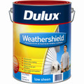 Dulux Weathershield 10L  Ultra Deep Base Low Sheen Exterior Paint