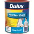 Dulux Weathershield 1L  Blue Base Low Sheen Exterior Paint