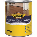 Cabots 1L Natural Exterior Decking Oil