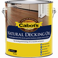Cabots 4L Natural Exterior Decking Oil