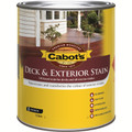 Cabots Deck & Exterior Stain 1L October Brown Oil Based Timber Stain