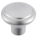Gainsborough Diplomat Satin Chrome Wardrobe Knob Set 356DSCSC