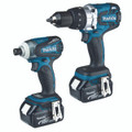 Makita DLX2055T 18V 5.0AH Li-Ion 2Pce Cordless Brushless Combo Kit