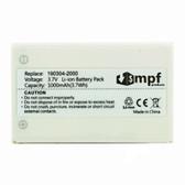 1000mAh R-IG7 Battery Logitech Wireless DJ Music System 966194-0403
