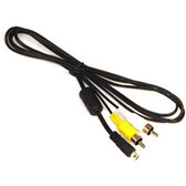8 Pin A/V AV Audio Video Cable Cord for Select Panasonic Lumix Cameras