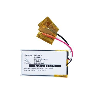 240mAh PR-452035 Battery for Bose QC20 QC20i QuietComfort 20 20i Headphones
