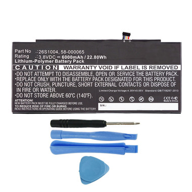 "26S1004 58-000065 Battery for Amazon Kindle Fire HDX 8.9"" GU045RW"