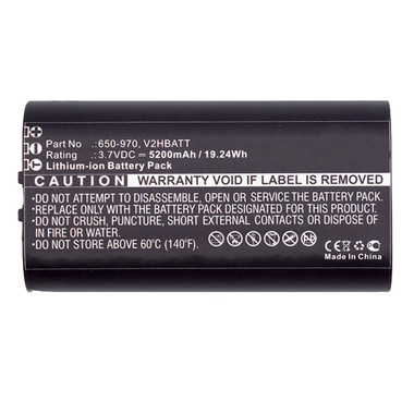 6400mAh 650-970 V2HBATT Battery for Sportdog TEK 2.0 GPS transmitter
